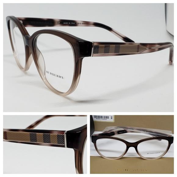 46bb343b076e Burberry Rx Pink Brown Eyeglasses
